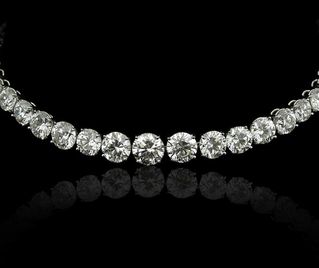 vendere collana diamanti